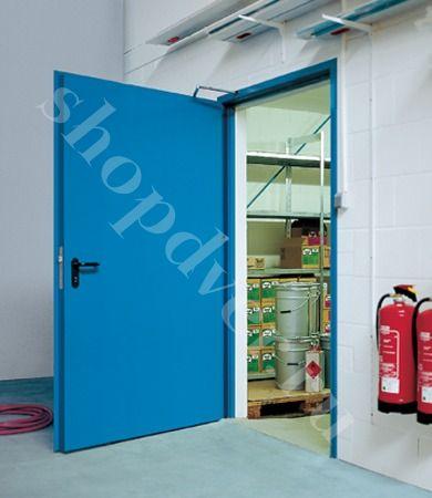 металлические двери для складского помещения