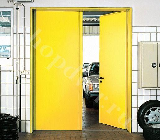 Дверь противопожарная EI-60 (двупольная)